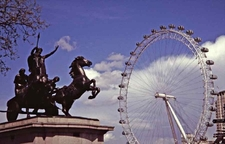 Boudicca London Eye Background