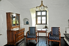 Bran Castle - Biedermeier Salon