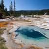 Bronze Geyser - Shoshone Basin - Yellowstone - USA