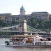 Budapest Castle Wth Ship