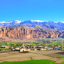 Buddha Hillside - Bamiyan Valley