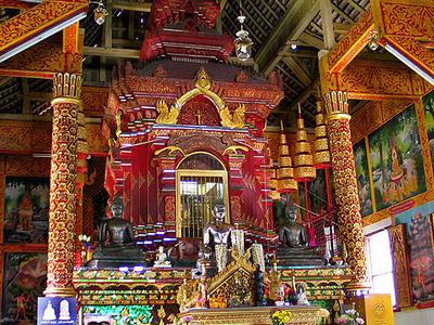 Buddha Images Of Wat Chiang Man