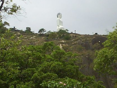 Buddha Statue At The Elephant Rock, Kurunegala