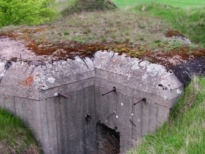 Bunkers of the Soviet fortifications