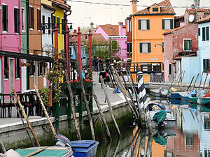 Murano Glassblowing And Burano Lace-Making Photos