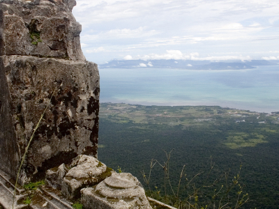 Kampot And The Sea From Phnom Bokor