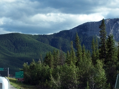 Bow Valley Provincial Park Entrance