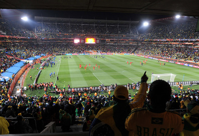 Inside The  Ellis Park Stadium