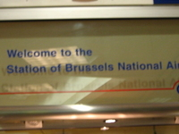 Brussels National Airport Railway Station