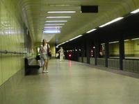 Újpest Központ Metro Station