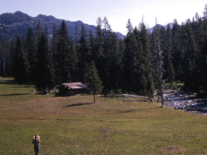 Cache Creek Patrol Cabin