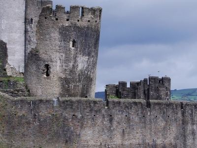 Caerphilly  Castle  Detail