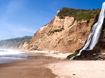 California Alamere Waterfalls