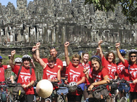 Angkor Cycling Tour Photos