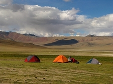 Camp At Pongungu Near Tso Kar - Ladakh J&K