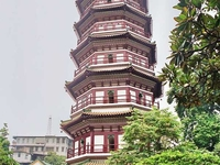 Six Banyon Tree Temple and Flower Pagoda