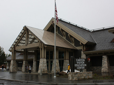 Canyon Village Visitor Center - Yellowstone - Wyoming - USA