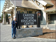 Canyon Visitor Education Center - Yellowstone - Wyoming - USA