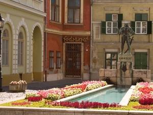 Captain Varkocs György statue