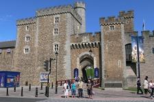 Cardiff Castle Eingangstor