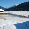 Carinthia's Town Weissensee In Winter