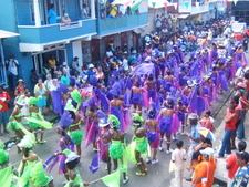 Carnival Go-Girls In Dominica