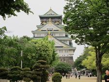 Castello Di Osaka Front