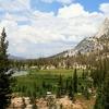 Cathedral Lake & Peak In Yosemite NP