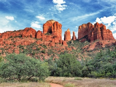 Cathedral Rock At Sedona AZ