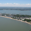 Aerial View Of Cedar Point