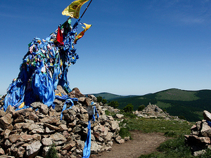 7 Day Central Mongolia Tour ,Horse Trekking In Eight Lake Photos