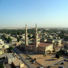 Central Mosque In Nouakchott
