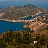 Cephalonia - View Assos From Top
