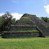 Chacchoben Pyramid At Quintana Roo - Mexico
