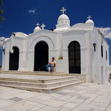 Saint George's Chapel On Mount Lycabettus