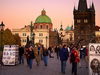 Charles Bridge In Twilight