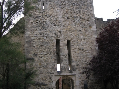 Entrance Of The Castle