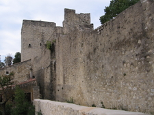 Rampart Between The Chateau And The Narbonne Tower