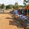 Chipata Roadside Clothes Vendors