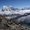 Cholatse & Taboche With Dudh Pokhari - Nepal Himalayas