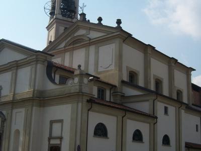 Church In Cesano Maderno.