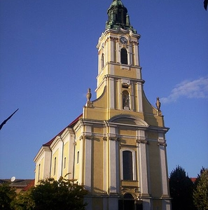 Church Of King Béla Square, Szekszárd , Hungary