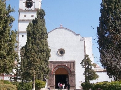 Church Of Saint James Apostle In Tequixquiac