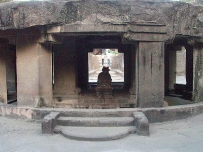 Circular Nandi Mandapa