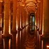 Cisterna Basilica Junto A Santa Sofia Estambul