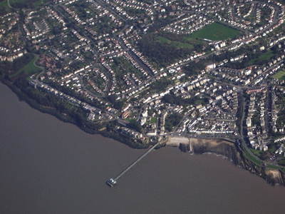 Clevedon From Air