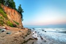 Cliff Of Orlowo Near Gdansk