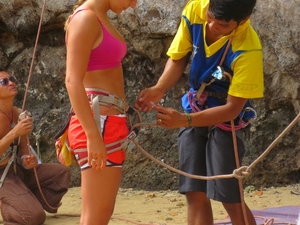 1/2 Day Rock Climbing Tours At Railay Beach,Krabi Photos