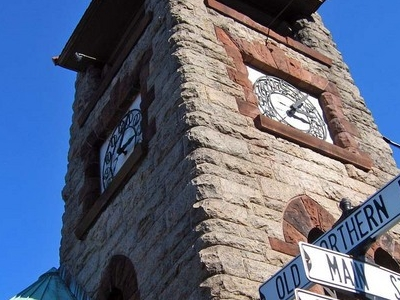 Clock Tower At Main Street