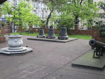 Colonial-era Mortar, Carillons And Wellhead